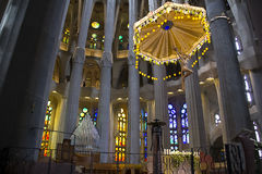 Sagrada Familia 14 库存图片