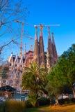 Sagrada Familia Royaltyfria Bilder
