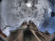Sagrada Familia Fotografie Stock Libere da Diritti