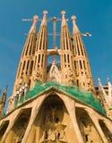Sagrada Familia. The still unfinished Sagrada Familia in Barcelona, Spain Royalty Free Stock Photo