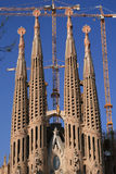 Sagrada Familia. Royalty-vrije Stock Fotografie