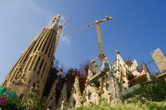 Sagrada Familia Imagem de Stock Royalty Free