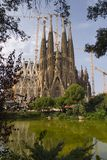 Sagrada Familia. Temple de la sagrada familia - Barcelona Royalty Free Stock Images