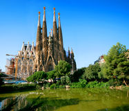 Sagrada Familia Royalty Free Stock Photo