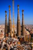 Sagrada Familia. Basilica in Barcelona, Spain Stock Photo