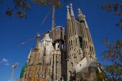 Sagrada Familia στοκ εικόνες με δικαίωμα ελεύθερης χρήσης