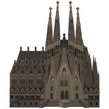 Sagrada Familia Royalty-vrije Stock Afbeeldingen
