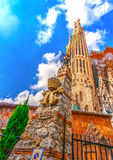 Sagrada Familia Photographie stock