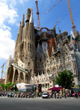 Sagrada Familia Photographie stock libre de droits
