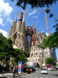 Sagrada Familia Photographie stock