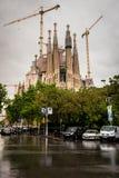 Sagrada Familia Royalty-vrije Stock Foto's
