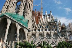 Free Sagrada Familia Stock Images - 54255804