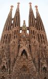 Sagrada familia. In barcelona Royalty Free Stock Images