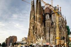 Sagrada Familia Stock Afbeelding