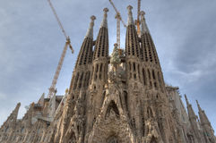 Sagrada Familia Stockfoto