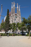 Sagrada Familia Fotografia de Stock