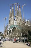Sagrada familia royalty-vrije stock foto