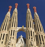 Sagrada Familia 9 Stock Photography