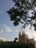 Sagrada Familia fotografie stock
