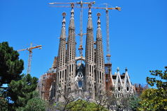 Free Sagrada Familia Royalty Free Stock Photos - 9802348