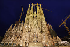 Sagrada Familia. Royalty Free Stock Photography