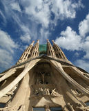 Sagrada Familia by Antoni Gaudi Royalty Free Stock Photography