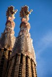 Sagrada Familia by Antoni Gaudi in Barcelona Spain Stock Photo