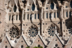 Sagrada Familia architecture Stock Photos