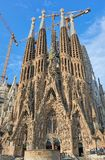 Sagrada Familia Barcellona fotografia stock