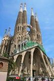 Sagrada Familia (Barcellona) Immagini Stock Libere da Diritti