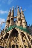 Sagrada Familia, Barcellona fotografia stock libera da diritti