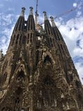 Sagrada Familia Barcelona, ​​Spain Royalty Free Stock Image
