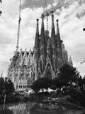 Sagrada Familia Barcelona, Spain Royalty Free Stock Photos