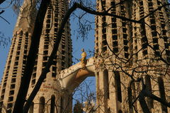Sagrada Familia Barcelona Royalty Free Stock Photos
