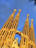Sagrada Familia in Barcelona Royalty Free Stock Photo