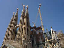 Sagrada Familia Barcelona Stock Photography
