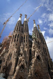 Sagrada Familia Barcelona Royalty Free Stock Photography