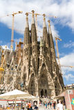 Sagrada Familia,  Barcelona Royalty Free Stock Photo