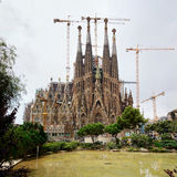 Sagrada Familia - Barcelona Royalty Free Stock Photo