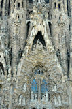 Sagrada Familia (Barcelona). Architecture details of unfinished Cathedral Sagrada Familia in Barcelona Royalty Free Stock Photography