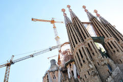 Sagrada Familia, Barcelona Stock Images