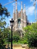 Sagrada Familia, Barcelona Obrazy Royalty Free