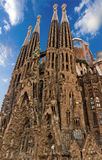 Sagrada Familia Barcelona Stock Photos