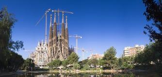 Sagrada Familia, Barcelona Royaltyfria Bilder