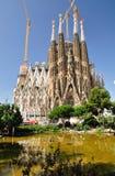 Sagrada Familia.Barcelona. Стоковая Фотография RF