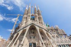 Sagrada Familia, Barcelona Imágenes de archivo libres de regalías