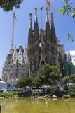 Sagrada Familia in Barcelona Royalty-vrije Stock Afbeelding