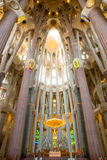 Sagrada Familia Barcelona Royalty-vrije Stock Foto's