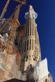 Sagrada familia in Barcelona Royalty-vrije Stock Foto