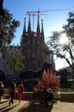 Sagrada Familia, Barcelona royalty-vrije stock afbeeldingen
